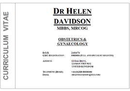 doctor cv sample medical cv sample