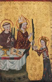 monasticism in western medieval europe essay heilbrunn the bishop of assisi handing a palm to saint clare