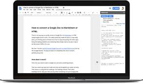 How To Convert A Google Doc To Markdown Or Html Iain Broome