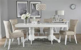 Great White Dining Sets Furniture Choice Regarding White Dining