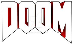 doom logo by mikejinx on DeviantArt