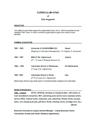 How To Make Objective In Resume Examples Of Objectives On A Resume Example Objective How To Make 8