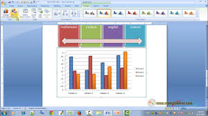 24 How To Use Chart Advance Tool In Ms Word 2007 In Hindi