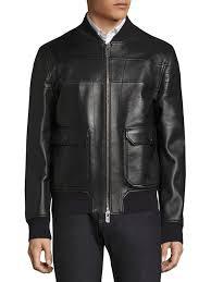 bally reversible leather er jacket black men apparel coats jackets ers varsity bally bbnaija profile collection