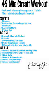 45 minute circuit workout 3 sets of 15 minutes each and youre done fitsouffle fitness workout exercise and fitness