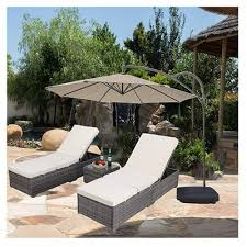 do4u new outdoor patio chaise lounge