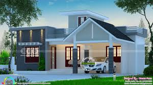 Low Cost Low Budget House Design 2 Bedroom Low Budget House 1013 Square Feet Kerala House