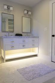 undermount cabinet lighting. Bathroom Night Light In The Form Of Under Cabinet Lighting. Even If Your Vanity Isn\u0027t Open On Bottom Like This, You Can Install Toe Kick! Undermount Lighting