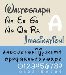 Disney Font Waltograph Wikipedia