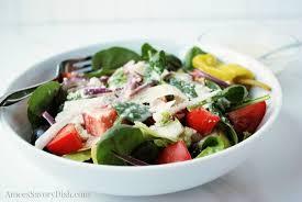 healthier copycat olive garden salad