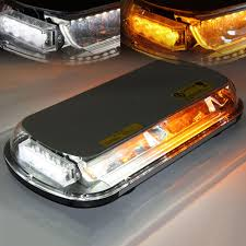 Xprite Light Bar Xprite White Amber 44w 44 Led Emergency Truck Roof Top Hazard Strobe Light Bar