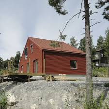 Prefab A Frame House Prefab House Contemporary Wooden Frame Two Story Sweden