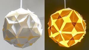 Diy Lamp Diy Lamp Diamond Ball How To Make A Lampshade Lantern From