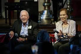Jimmy Carter, wife Rosalynn celebrate ...