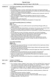 Field Engineer Resume - Resume Sample