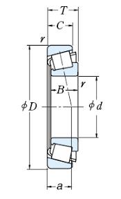 tapered roller bearing. tapered roller bearings, d \u003d 15 mm, 35 b bearing