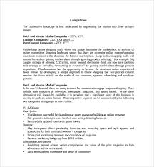 Retail Business Plan Outline Landscaping Business Plan Template 7 Sample Retail Business Plan