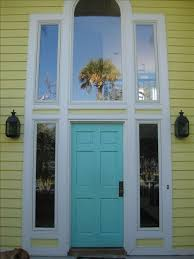 open front door welcome. Welcome To Our Home - We Love The Blue Front Door And Open Floor Plan