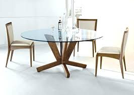wooden glass top dining table glass top dining table placed gorgeous room with grey modern round wooden base wood pedestal bases modern wooden dining table