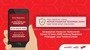 Jika nomor hp yang anda gunakan untuk registrasi adalah nomor tri, maka anda bisa cek nomor sendiri 3 di aplikasi tersebut. Telkomsel Card Registration Prepaid Sim Card Registration Telkomsel
