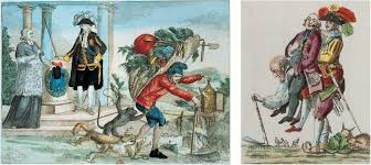 the french revolution political cartoons in late eighteenth century commonly portrayed the third estate as bearing the burden of taxation while performing the bulk of the