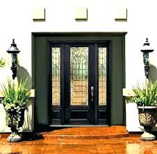 front doors with glass panels s front door glass panels sides