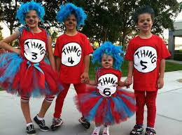 thing 1 costumes and thing 1 thing 2 on