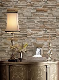 Flat Stone Wallpaper in Brown and Grey by York Wallcoverings | Flat stone, Stone  wallpaper and Stone