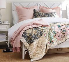 bari bedroom furniture. Bari Floral Patchwork Quilt \u0026 Pillowcase Bedroom Furniture