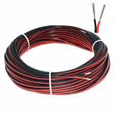 10M 18AWG Electrical Wire <b>2pin Extension Cable Wire</b> 12v DC Wire ...