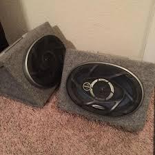 pioneer speakers 6x9. 6x9 pioneer speakers with sound box. works great!