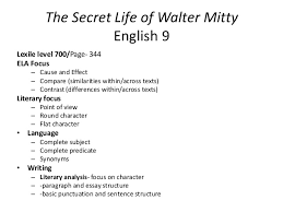 week of monday nd walter mitty s