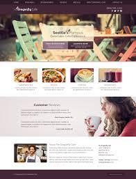 Website Design Seattle Wa Coffee House Website Design Example Web Idea Cemah