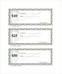 Blank Gift Certificate Templates Condo Financials Com