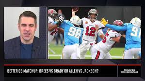 Better QB matchup: Brees vs Brady or ...