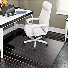 durable pvc home office chair. PVC Matte Desk Office Chair Floor Mat Protector For Hard Wood Floors 48\u0026quot; Durable Pvc Home H