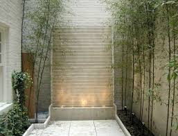 Small Picture minimalist stone wall modern water features Gardening