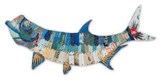 trophy fish collection tarpon by dolan geiman metal wall