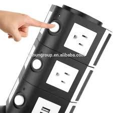 Ổ Cắm 110v 10 Và 4 Cổng Usb Tower Power Strip Usa - Buy Usb Power Strip  Usa,10 Outlet Power Strip,Tháp Điện Dải Product on Alibaba.com