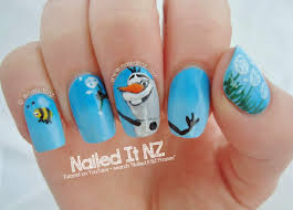 Disney Nail Art #5 - Frozen!