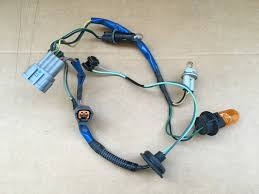 oem 03 05 nissan 350z xenon hid headlight wiring harness wire Metal Halide Ballast Wiring Diagram at Hid Ballast To Stock Wiring Harness