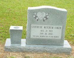 Gertrude Mitchum Coker (1922-2002) - Find A Grave Memorial