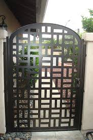Small Picture Contemporary metal gate sale designer wrought iron steel garden