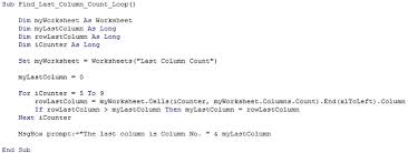 Excel Vba Last Column 7 Macro Code Examples With Clear Explanations