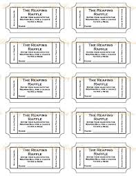 printable raffle tickets template anuvrat info raffle tickets to print