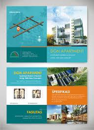 apartment brochure design. Design Brosur Sign Apartment Brochure