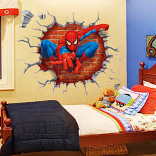 marvel spider man images on spiderman wall decals prixdallebetoncom superhero wall decals canada