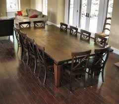 Dining Room Table Size For 10 Rustic Dining Table Seats 10 Rustic Table Products