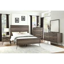 Ashley Furniture Cal King Bedroom Sets Modern Industrial Gray 4 ...
