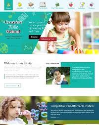 Kids School Website Template Kids Theme Templates For Cv For Students Kids Website Template